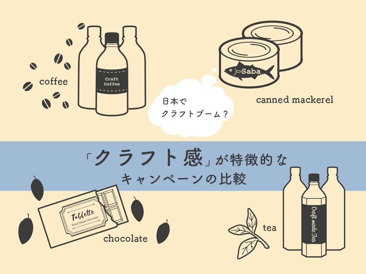 日本でクラフトブーム? 「クラフト感」が特徴的なキャンペーンの比較