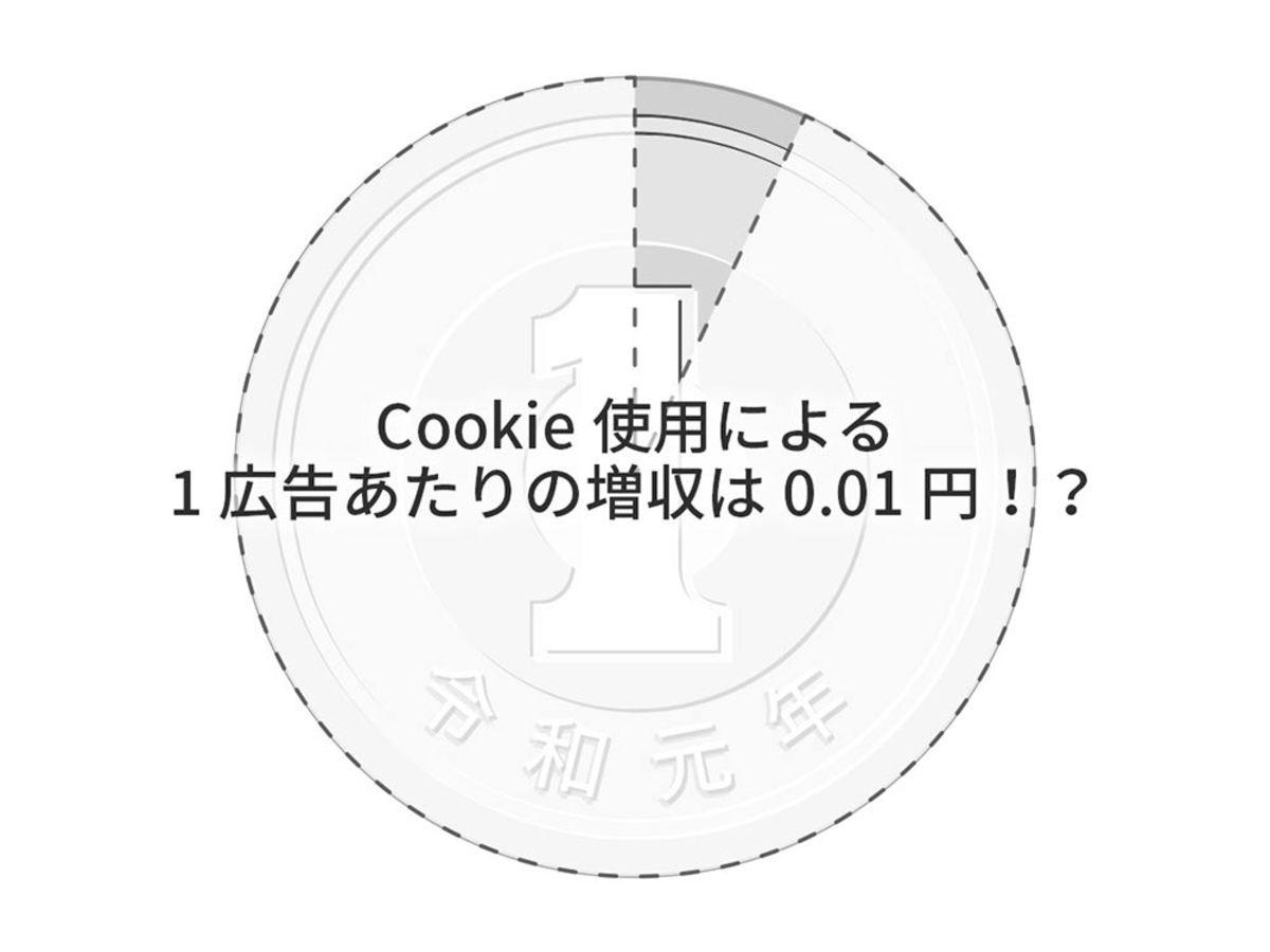 「Cookieの使用による広告メディアの増収は約0.01円【米国3大学の研究結果】」の見出し画像