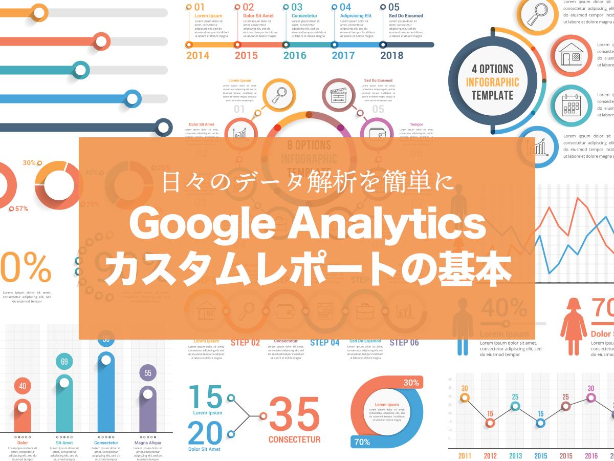 Google Analytics(グーグルアナリティクス・GA)カスタムレポートの使い方を解説!便利なカスタムレポートテンプレートも紹介