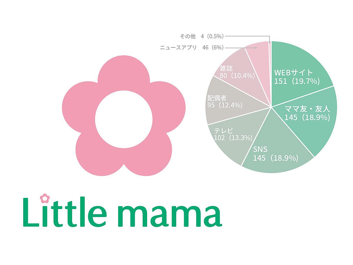 「意外と夜型?21〜23時がママに刺さる時間帯!ママのSNSの接触・利用に関する調査結果をリトル・ママが公開」の見出し画像