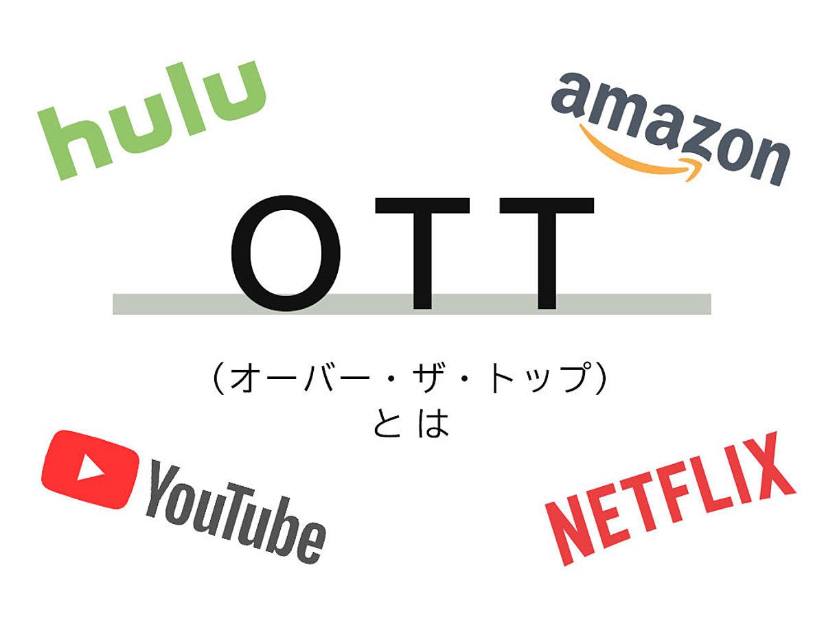 「OTT(オーバー・ザ・トップ)とは?さらなる進化のカタチを解説」の見出し画像