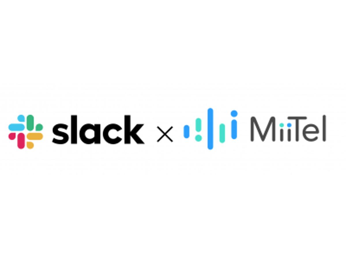 「AI搭載クラウド電話MiiTelがSlackと連携開始」の見出し画像