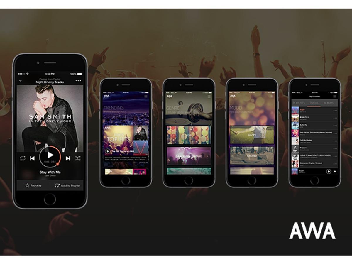 「サイバーエージェントとエイベックスが手掛ける定額制音楽配信サービス「AWA(アワ)」リリース」の見出し画像