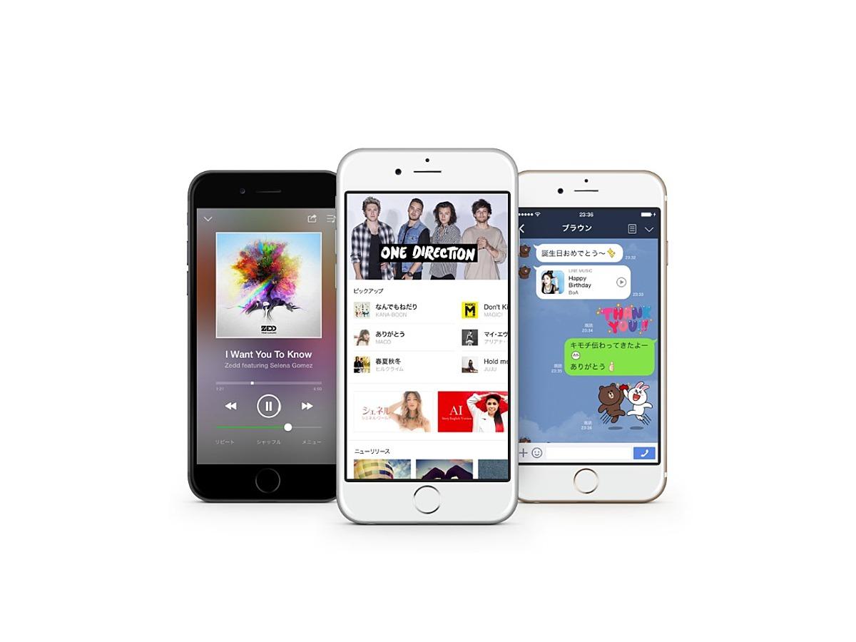 「LINE MUSIC、サービス開始わずか12日目でダウンロード数300万件突破」の見出し画像