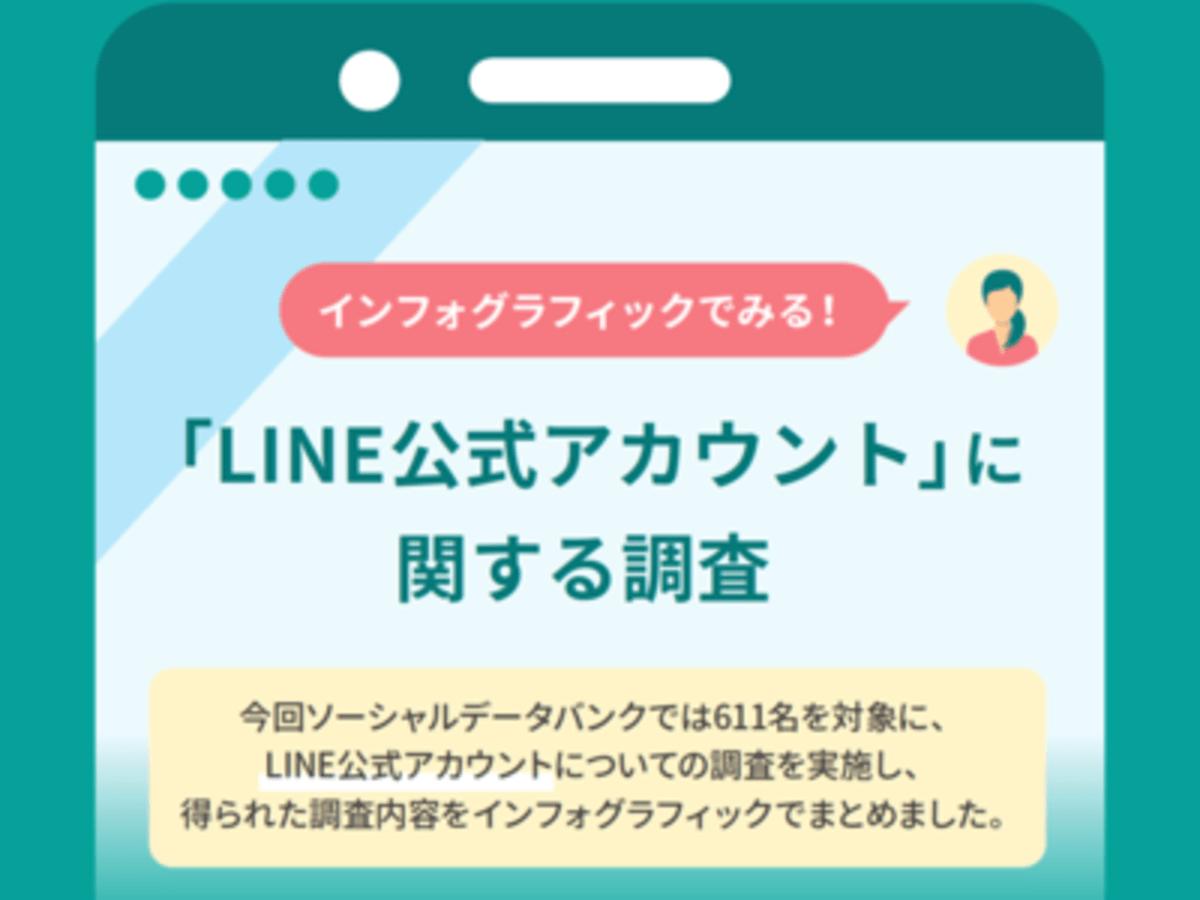 「インフォグラフィックでみる!「LINE公式アカウント」に関する調査 83.4%が公式アカウントを登録し、約3人に1人は商品購入経験あり!」の見出し画像