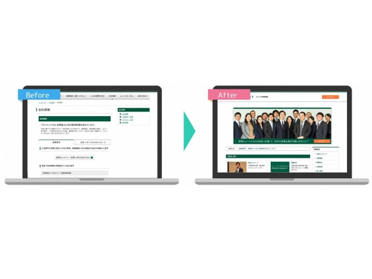 「人事担当者でも採用サイトが作れる「採用サイトまるごとパッケージ」をリリース」の見出し画像