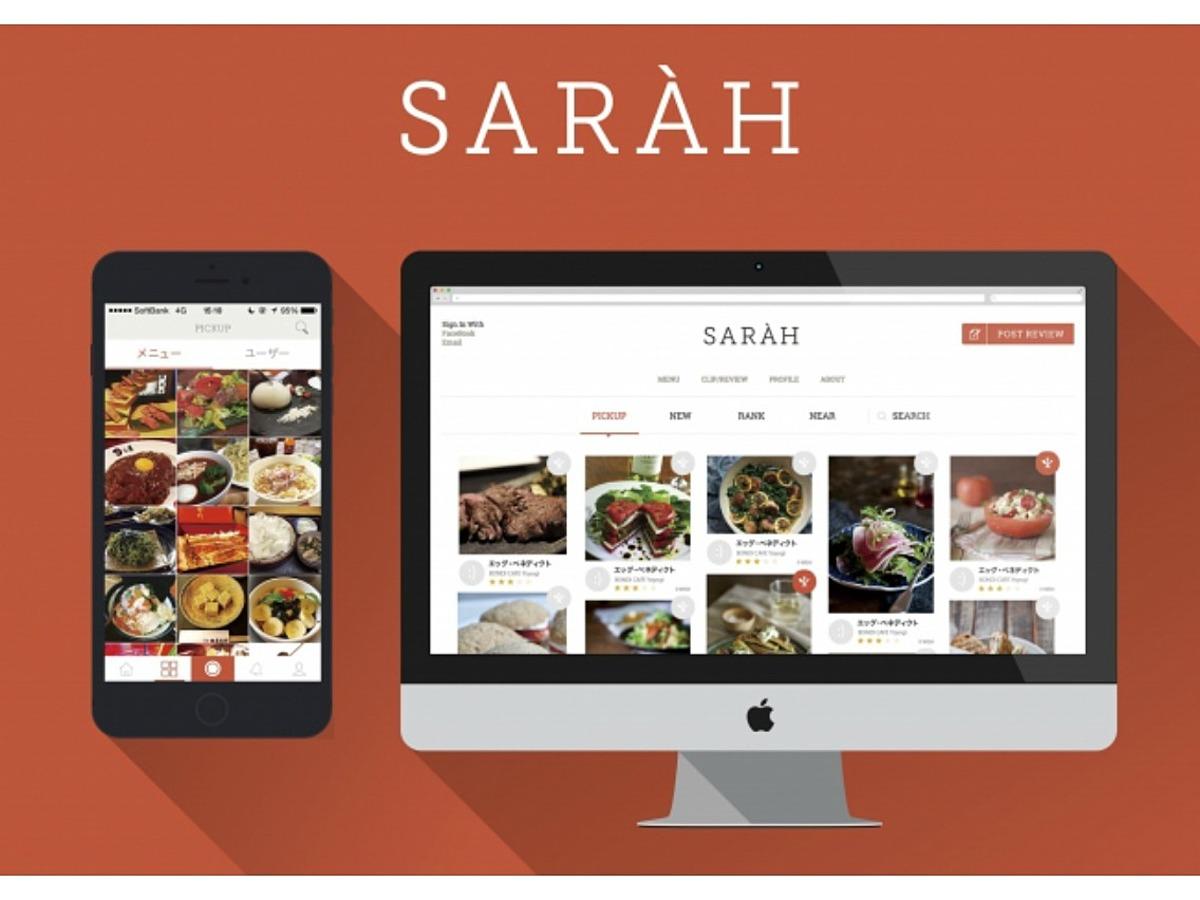 「グルメスナップアプリ「SARAH」を提供する株式会社SARAHが株式会社ベクトルから資金調達実施」の見出し画像