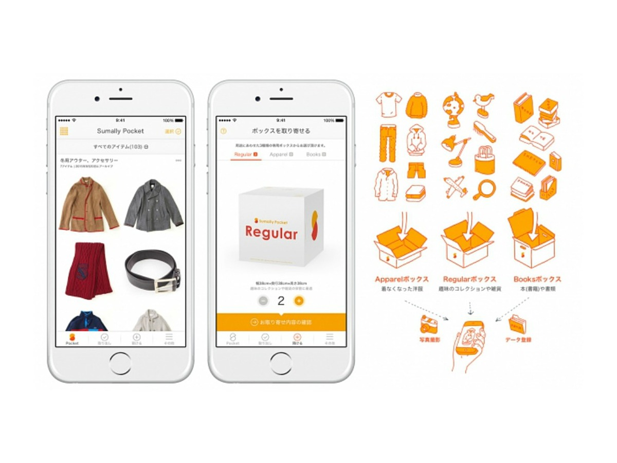 「スマホに最適化した収納サービス「Sumally Pocket」リリース」の見出し画像