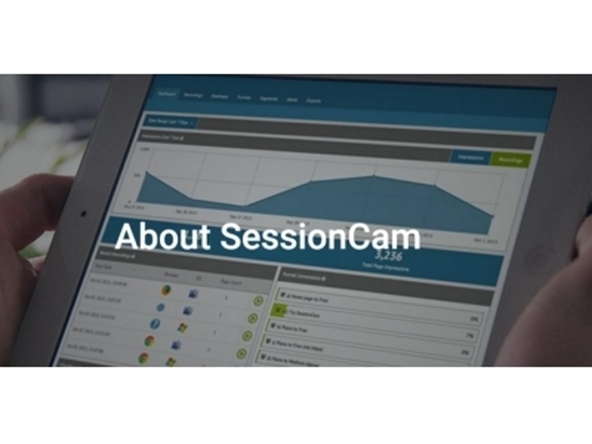 「世界で5000社以上が導入するWEBサイトの機会損失が見えるツール「セッションカム」を中小企業向けに一部無償で提供」の見出し画像