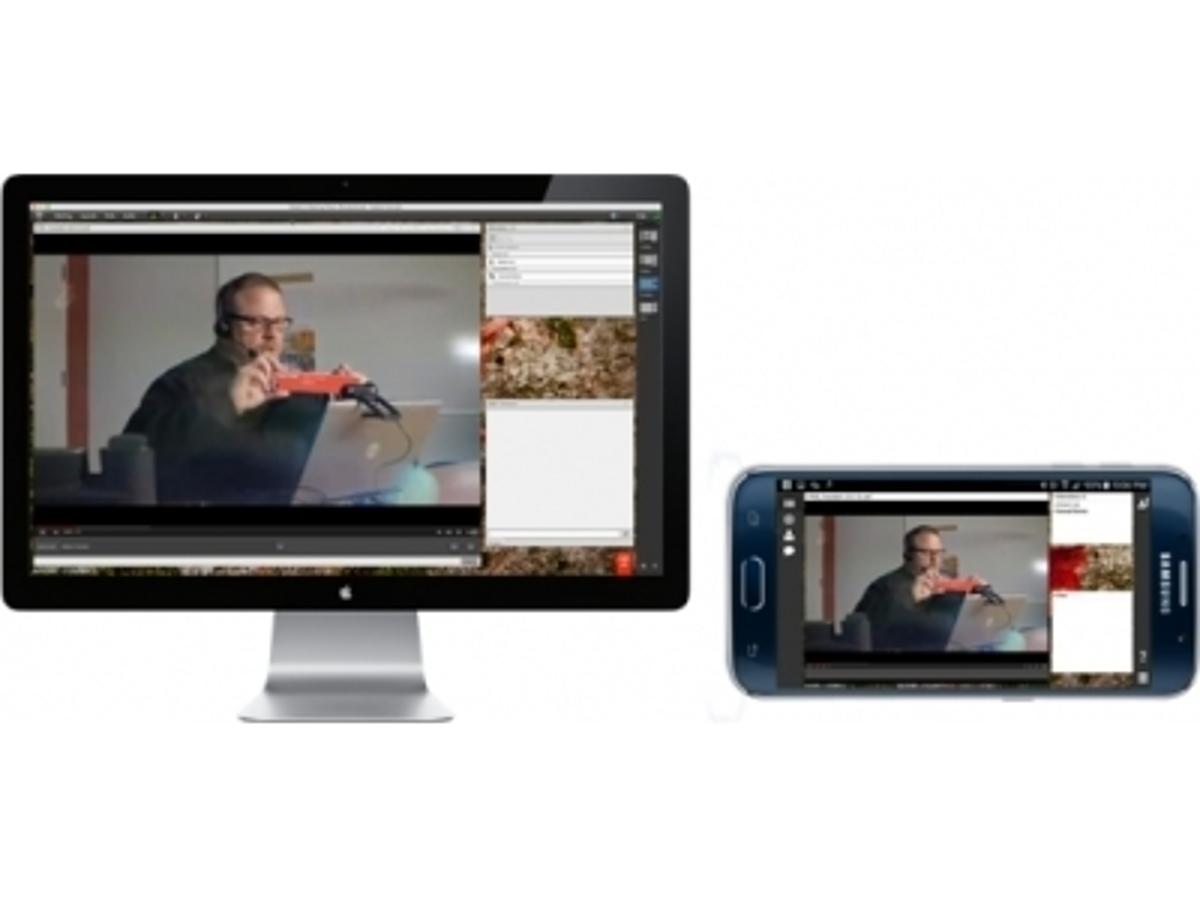 「アドビ社のウェブ会議ソリューション、MP4形式でのオフライン録画が可能に モバイル環境での動画視聴が便利になりました」の見出し画像