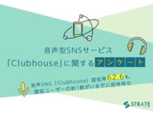 「音声SNS「Clubhouse」認知ユーザーの11%がいまだに招待待ち・認知率は62.6%【音声SNSサービス「Clubhouse」に関するアンケート】」の見出し画像