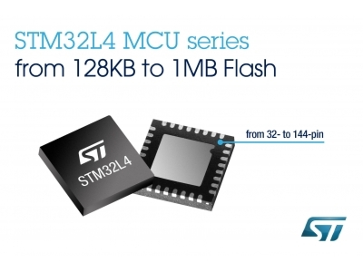 「ARM(R)Cortex(R)-M4マイコンでクラス最高の電力効率を実現するSTM32L4のポートフォリオを拡張」の見出し画像