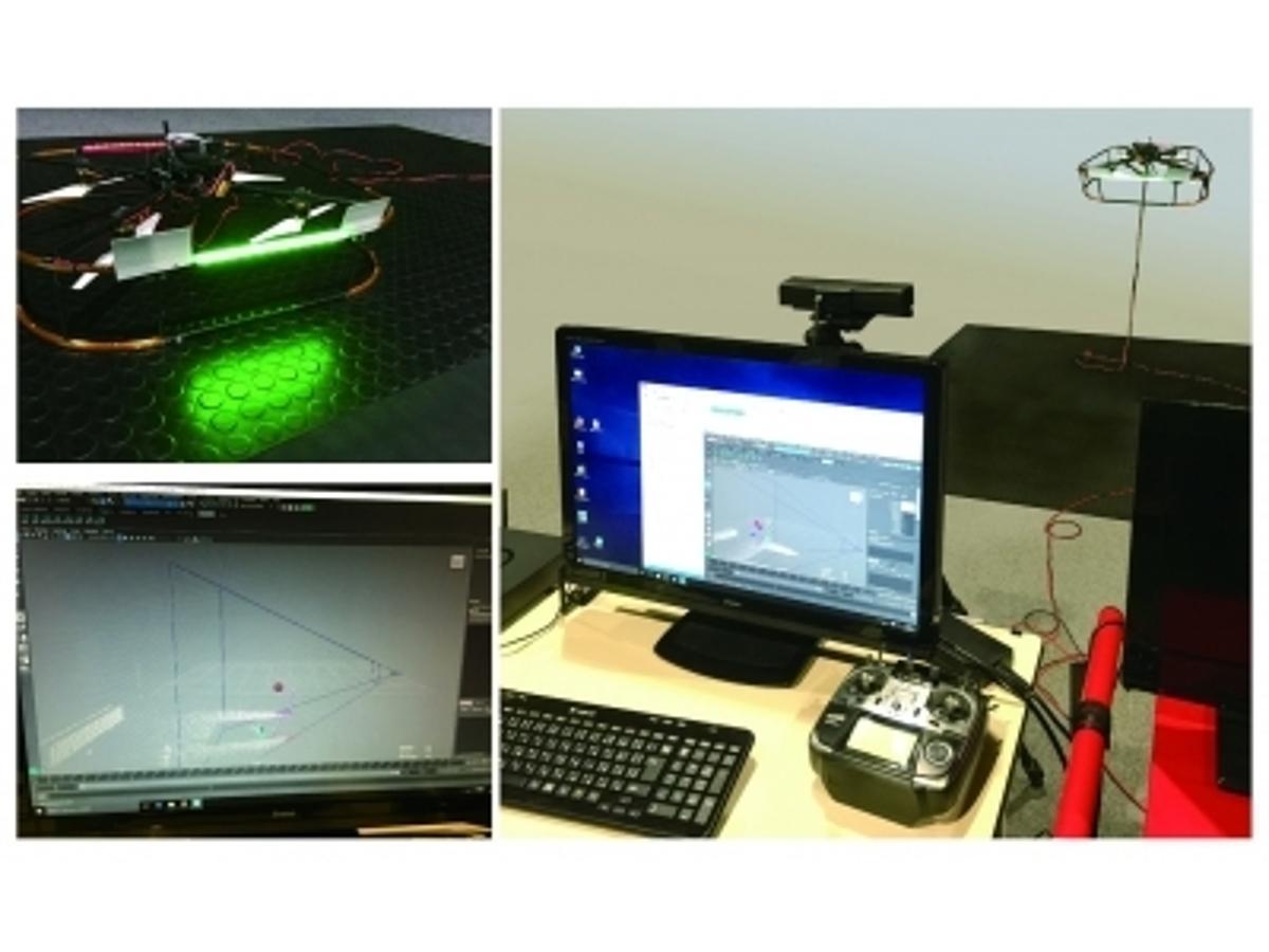 「ドローン エンルート オートデスクと3D CGソフト『Maya』を活用した飛行制御法を確立」の見出し画像