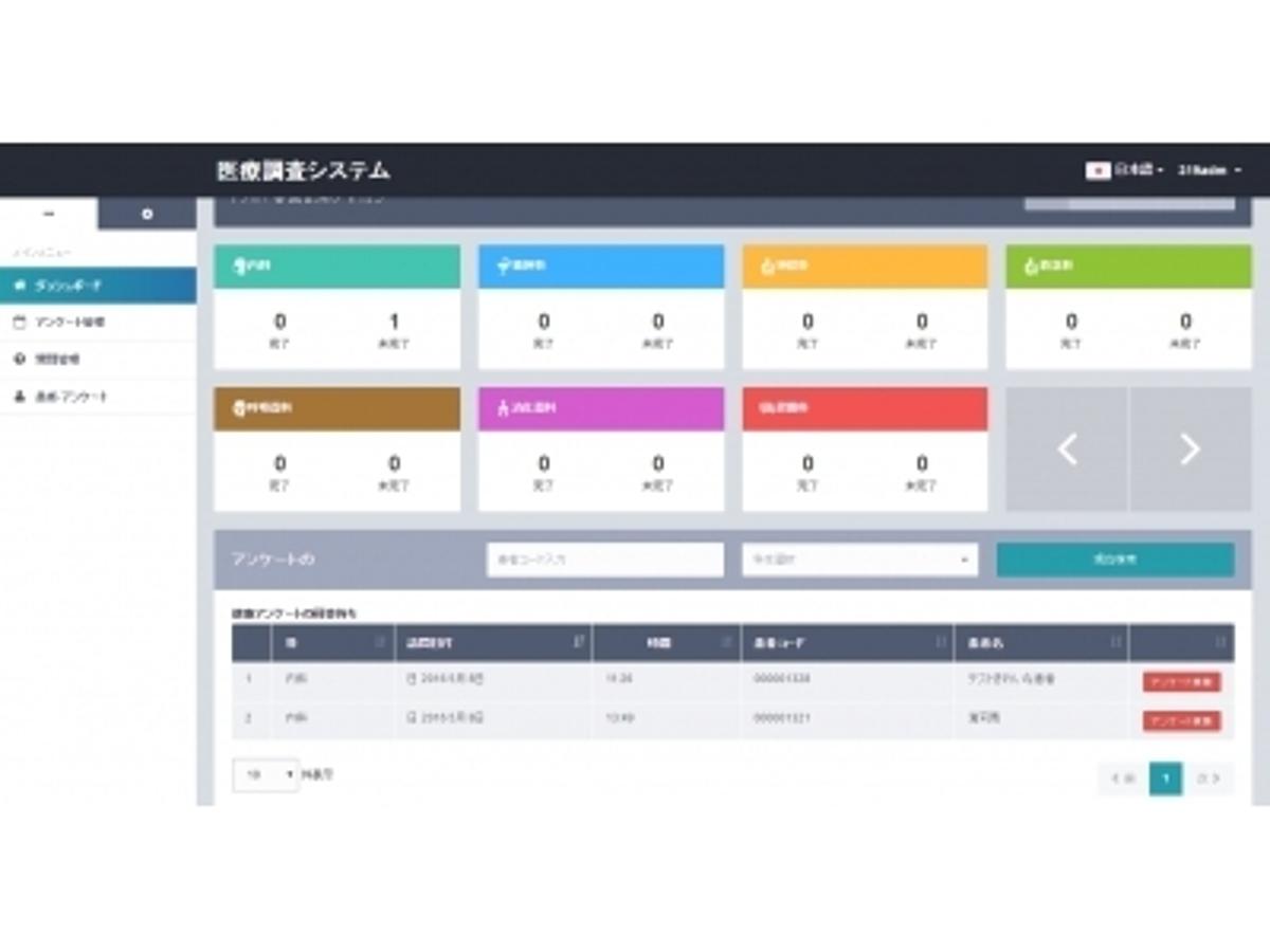 「無料の電子カルテサービスKARTE.CLINIC に接続する問診票サービス「Medical Interview System(MIS)」をリリース」の見出し画像