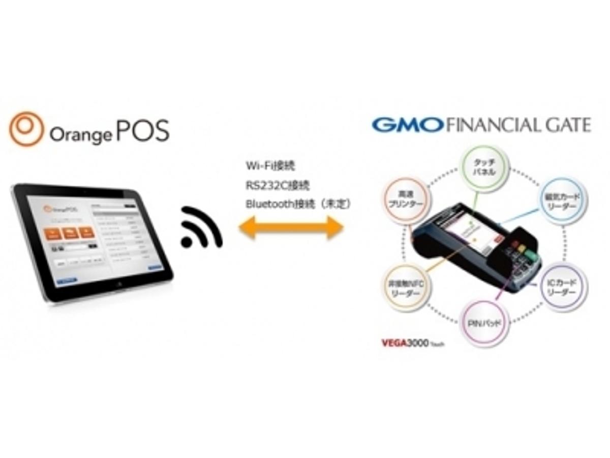 「GMOフィナンシャルゲート:次世代型ハイブリッド決済端末がエスキュービズム・テクノロジーの「Orange POS」と連携」の見出し画像