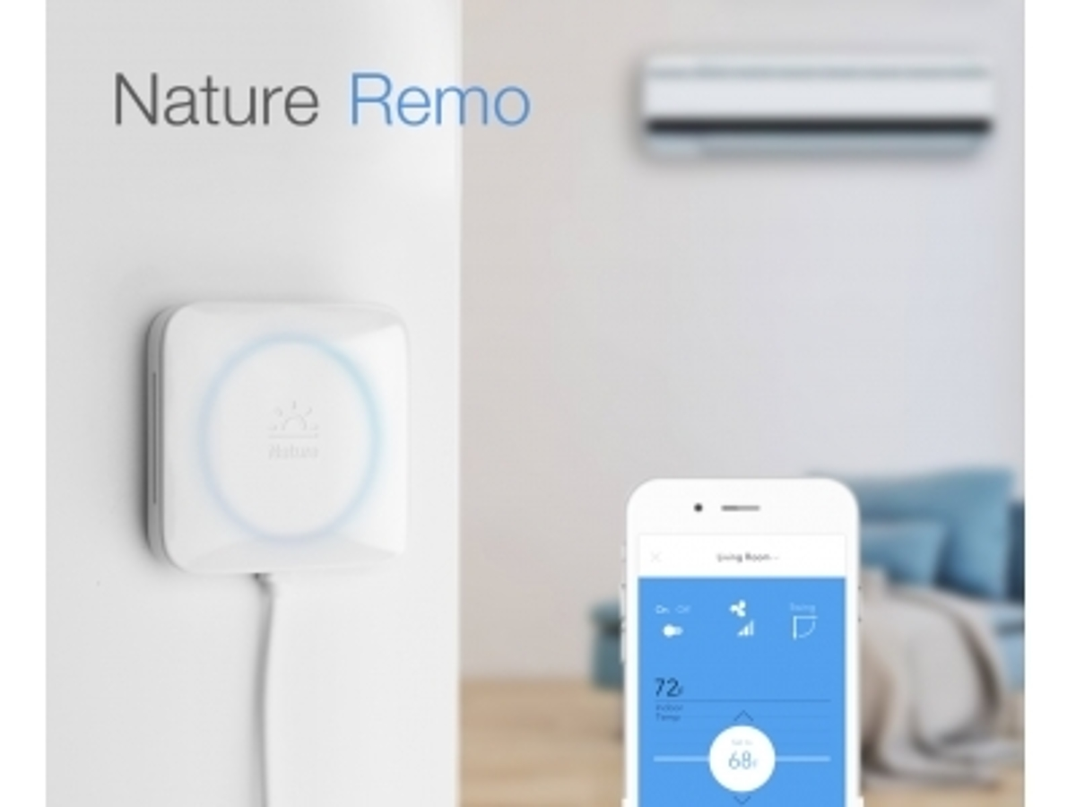 「エアコンをスマート化するIoTプロダクト「Nature Remo」を発表。スマホで戸外からエアコン操作、人感センサーと学習機能で省エネ化。Kickstarterで先行予約開始。」の見出し画像