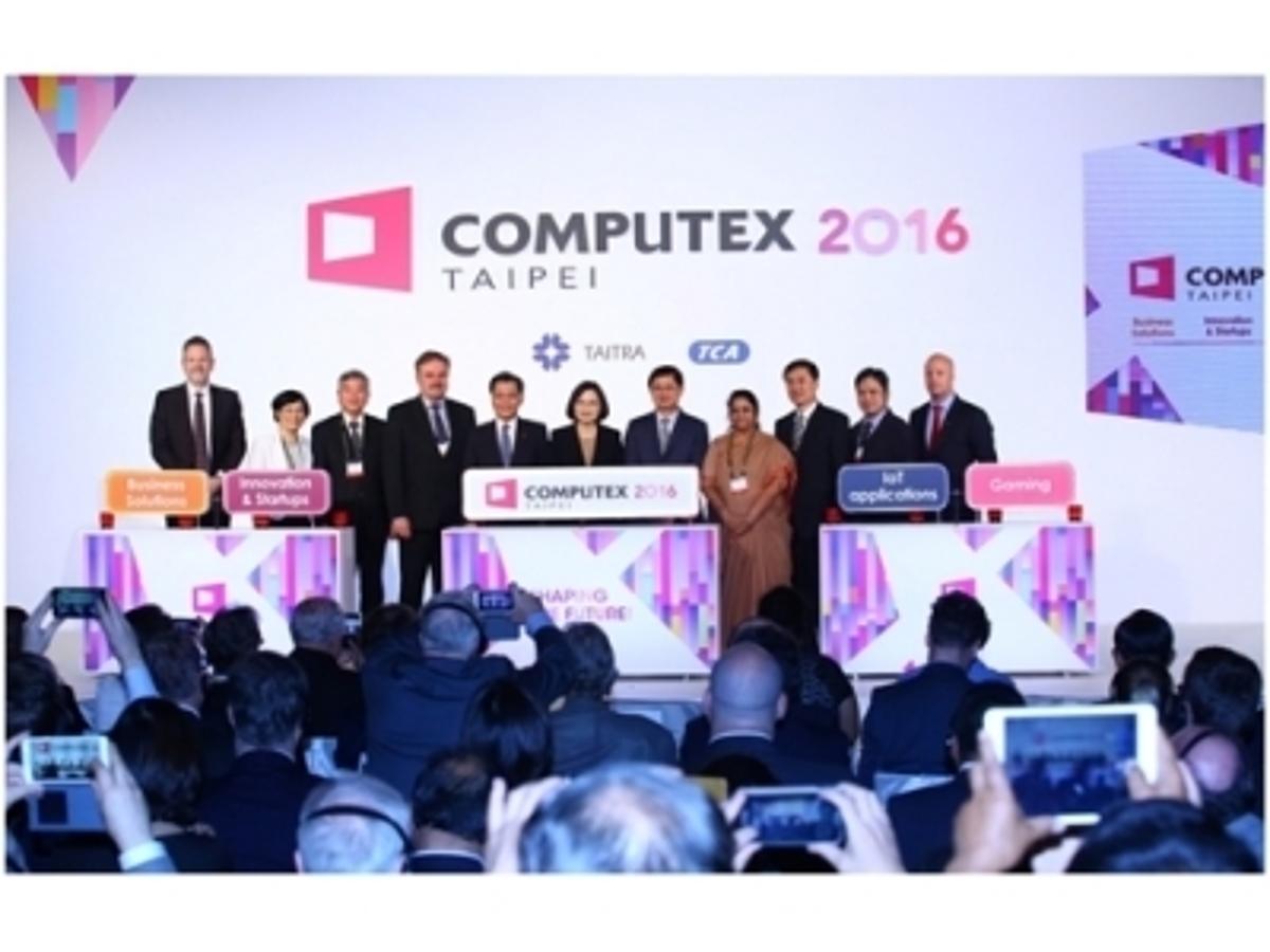 「台湾発!世界最大級の最新ITトレードショー「COMPUTEX 2016」 いよいよ本日、5月31日(火)台北にて開幕!」の見出し画像