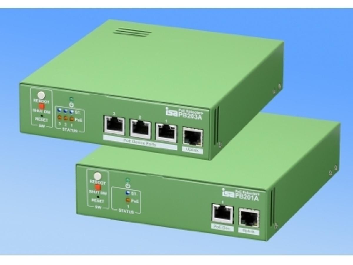 「IP監視カメラ等を自動監視・障害復旧させ、警報機と連動。運用・保守にも貢献。PoE リブータ+(プラス)、新発売!!」の見出し画像