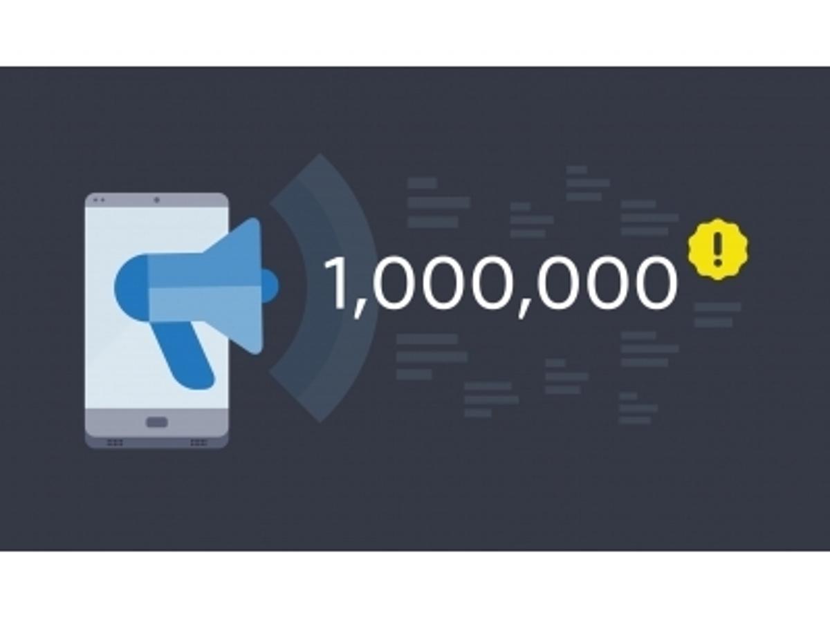 「モバイルマーケティングツールのRepro、プッシュ通知のパフォーマンスを改善!同時通配信数は100万通に」の見出し画像