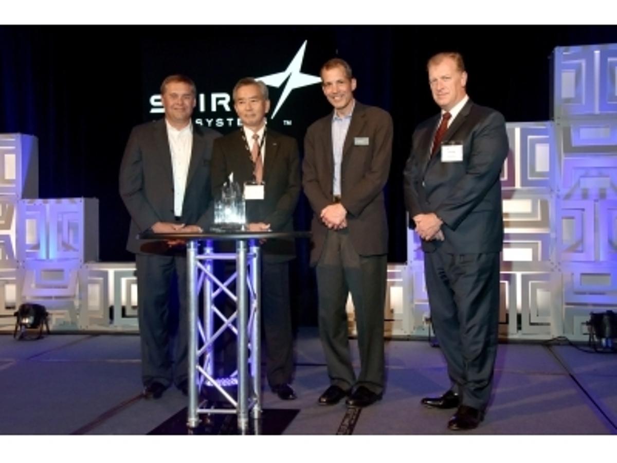 「【受賞】米国Spirit AeroSystems社から「Supplier Of The Year 2016」受賞」の見出し画像