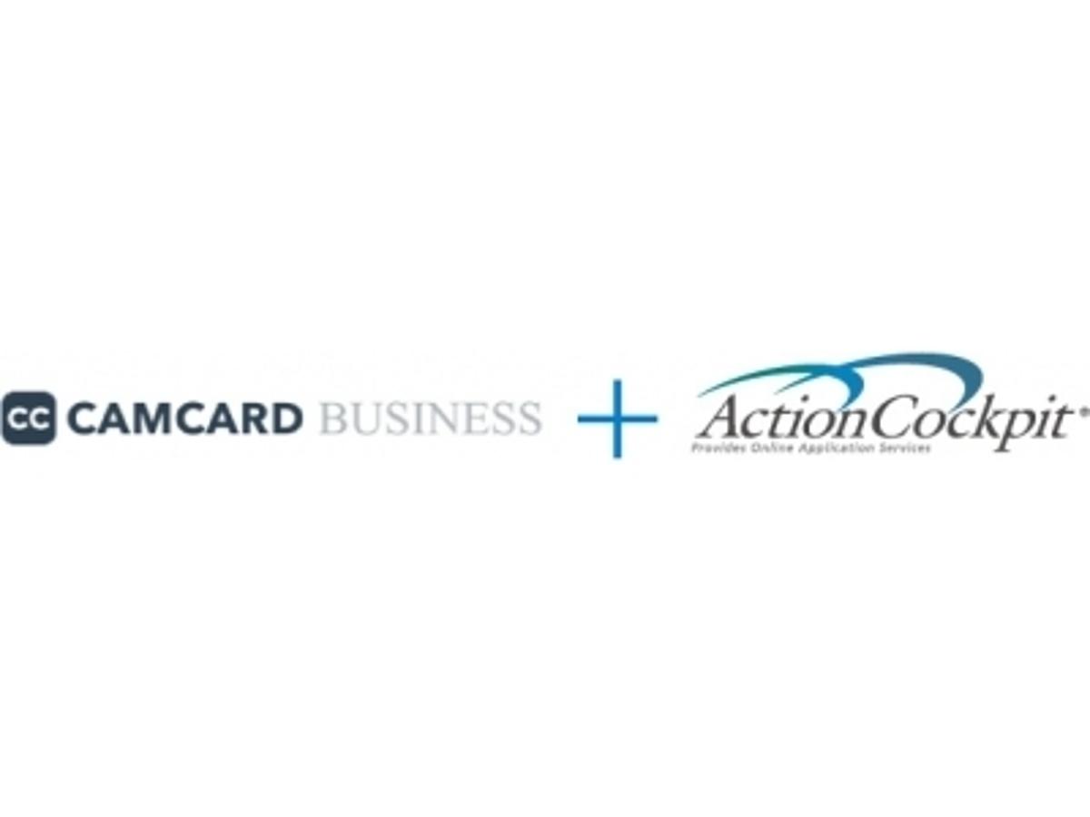「クラウド型SFA/CRMシステム「アクションコックピット」がクラウド名刺管理サービス「CAMCARD BUSINESS」と連携」の見出し画像