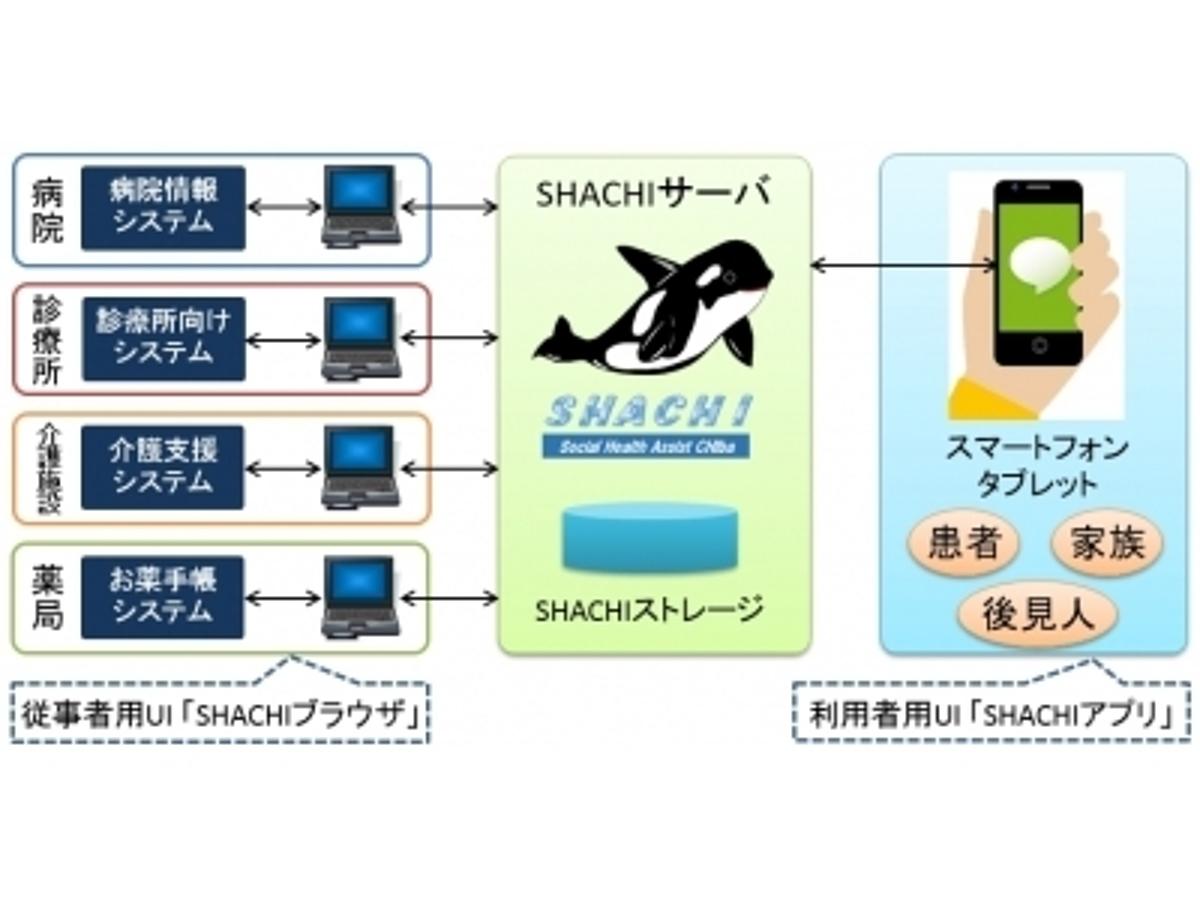 「患者さんと医療情報を共有するシステム「SHACHI」(シャチ)を開発、運用を開始しました」の見出し画像