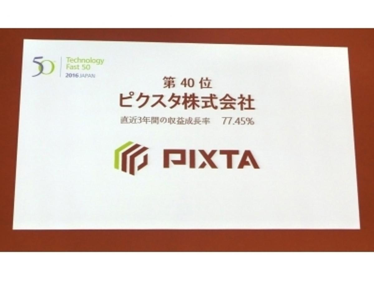 「第14回「日本テクノロジー Fast50」で40位を受賞 」の見出し画像