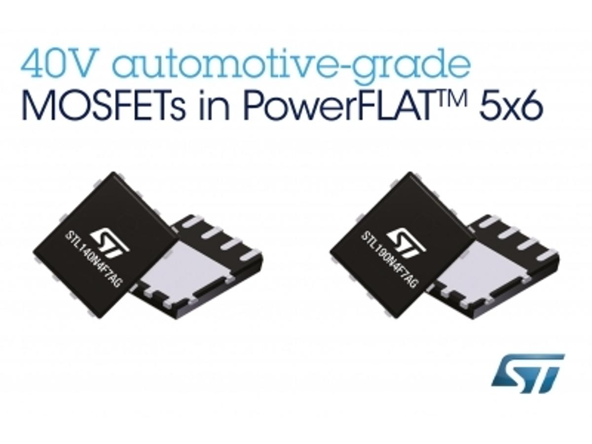 「優れたノイズ特性と電力効率を持つ40V耐圧 車載用パワーMOSFETを発表」の見出し画像