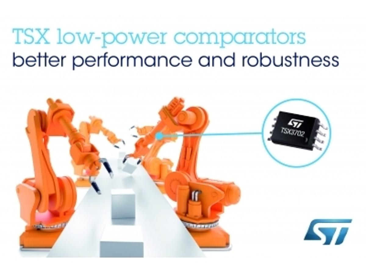 「効率・速度・信頼性を向上させた最新の16V CMOSアナログ・コンパレータを発表」の見出し画像