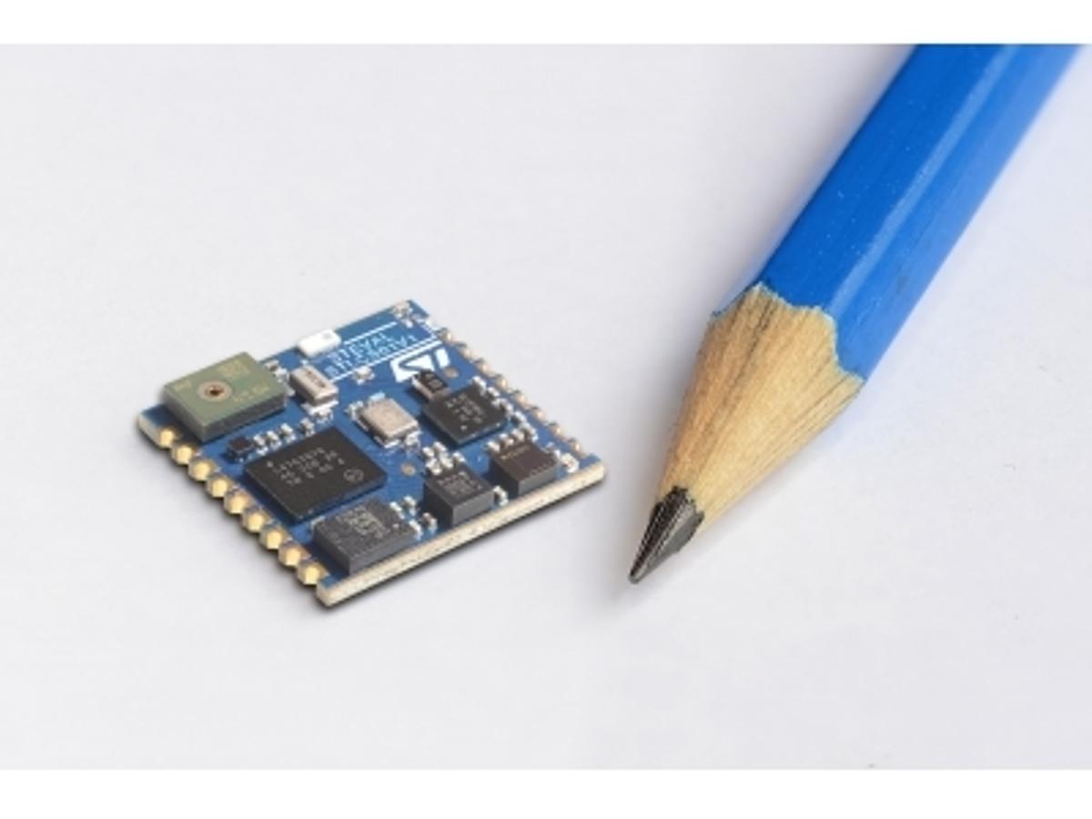 「IoT機器やウェアラブル機器の開発を加速させる、小型マルチセンサ・モジュールを発表」の見出し画像