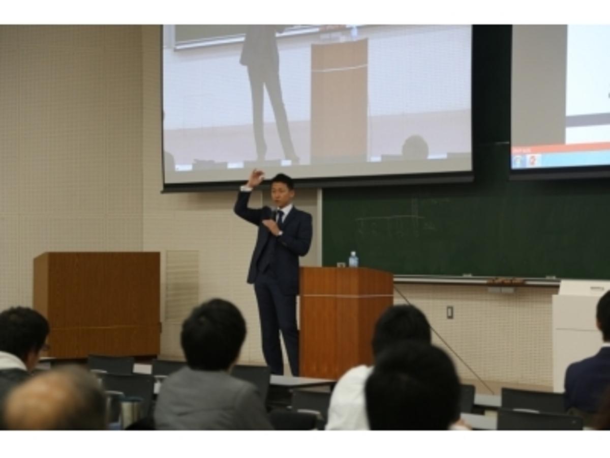 「デジタルデータソリューション(株)代表の熊谷が亜細亜大学の「トップ・マネジメント特別講義」に登壇」の見出し画像