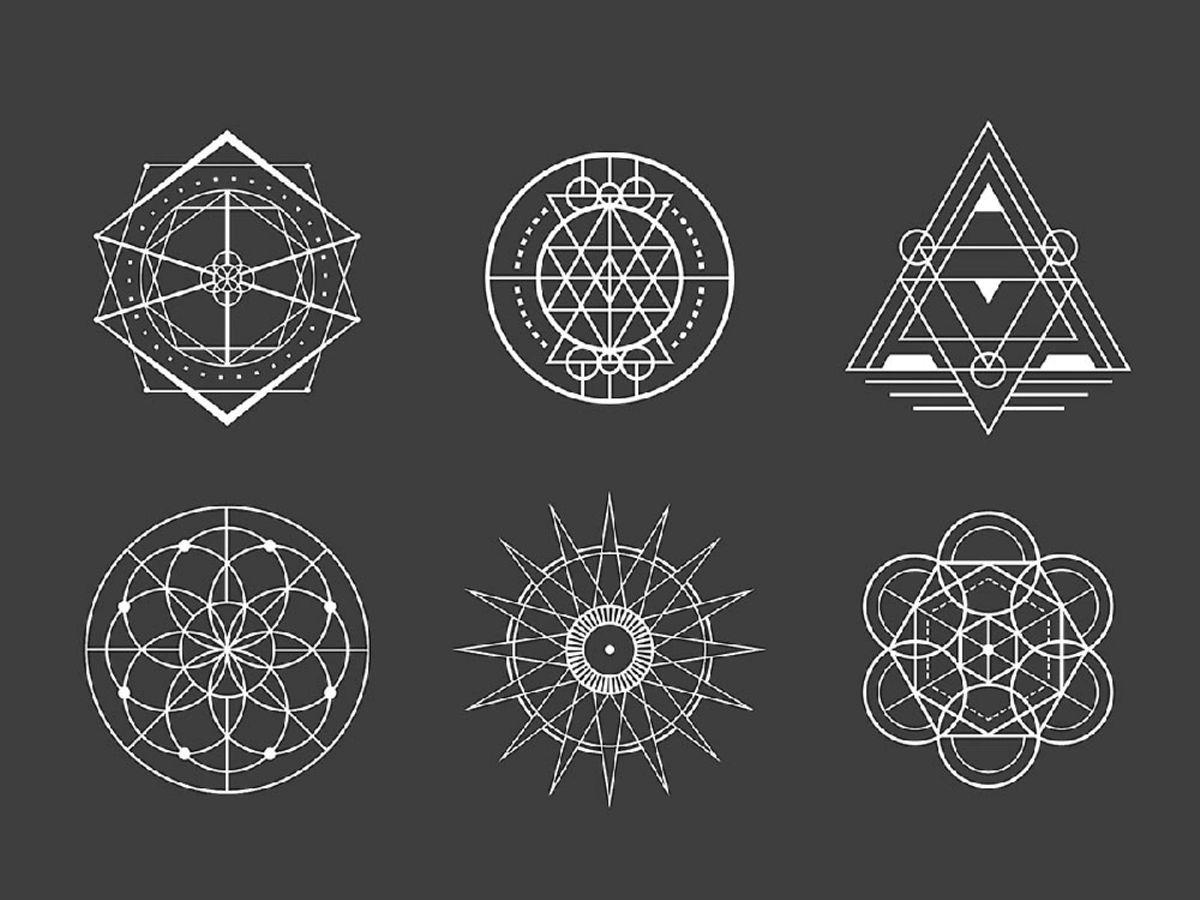 「幾何学模様を描くには?デザイン事例から実際の描き方までを解説」の見出し画像