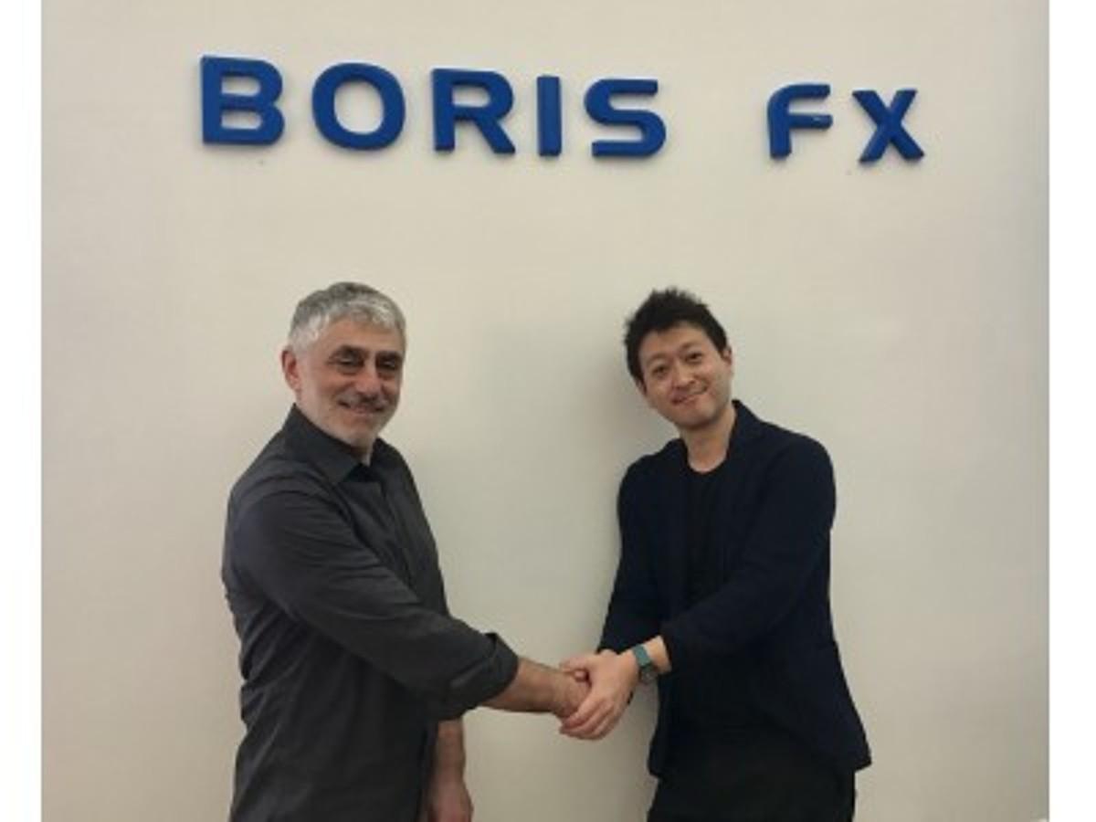 「ジョリーグッド、米BorisFX社と業務提携!VR用トラッキングツール「mochaVR」など、ハイレベルなVR制作環境を共同展開へ」の見出し画像
