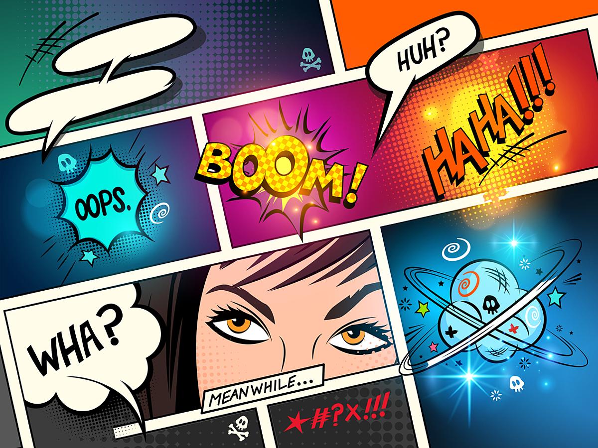 「漫画の手法を使って印象的なホームページに!代表的な3つの手法を用いたデザイン事例&デザイン制作に役立つツールまとめ」の見出し画像