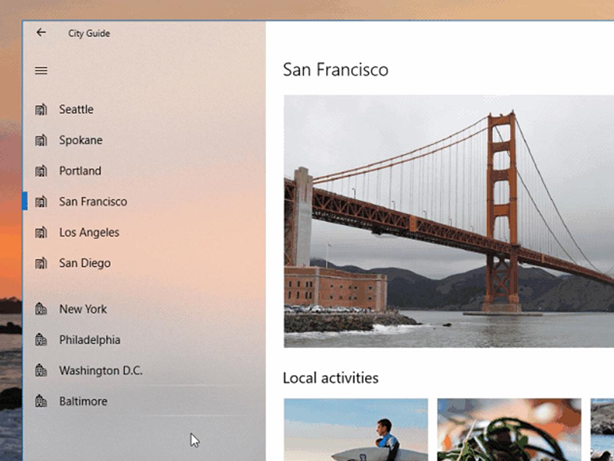 「フラット、マテリアルの次?Microsoftが提唱する「Fluent Design System」とは?」の見出し画像