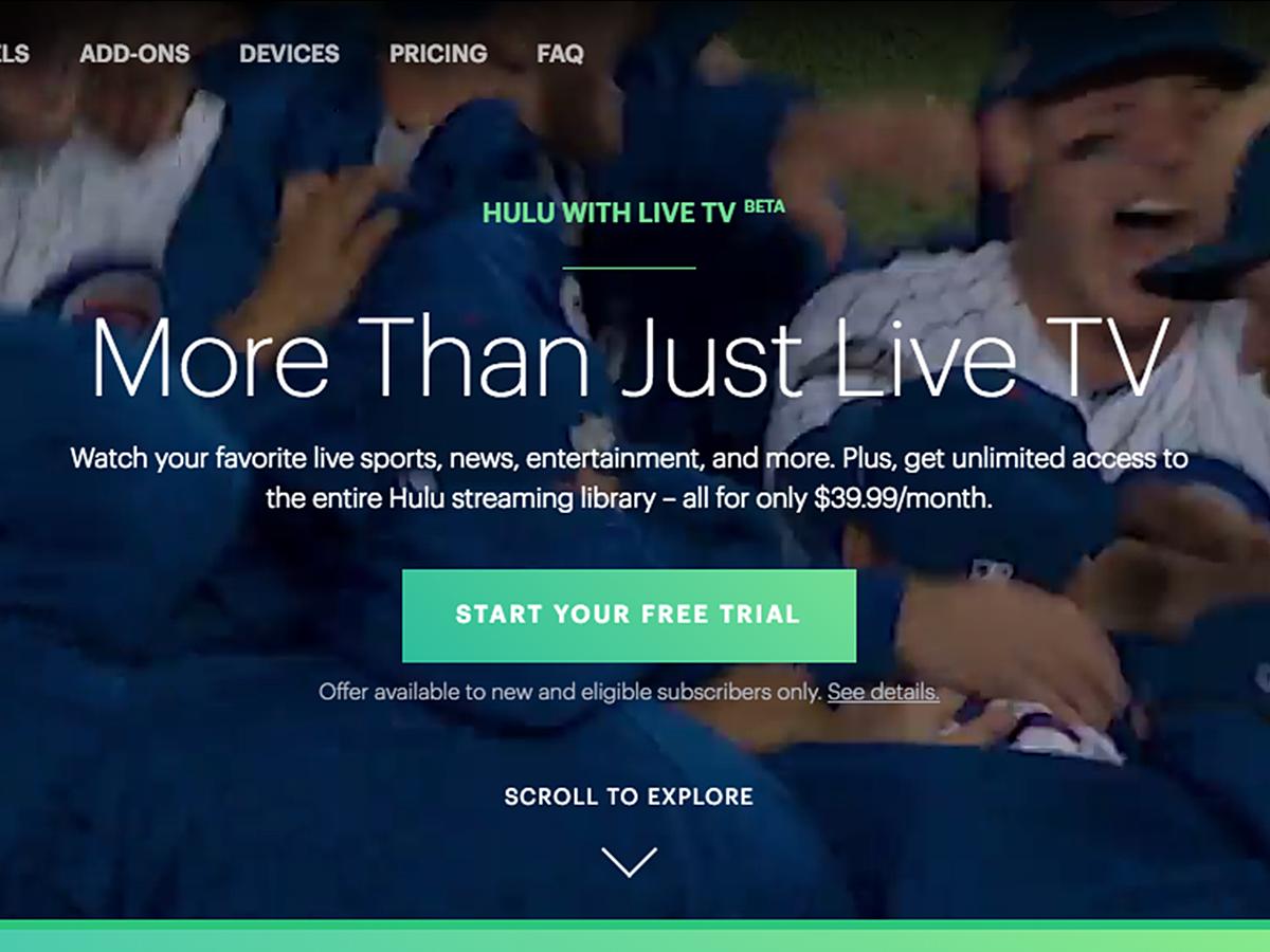 「ブランドのメインカラーをあえて使わない理由とは?「Hulu Live」から学ぶ、次世代のUI/UX」の見出し画像