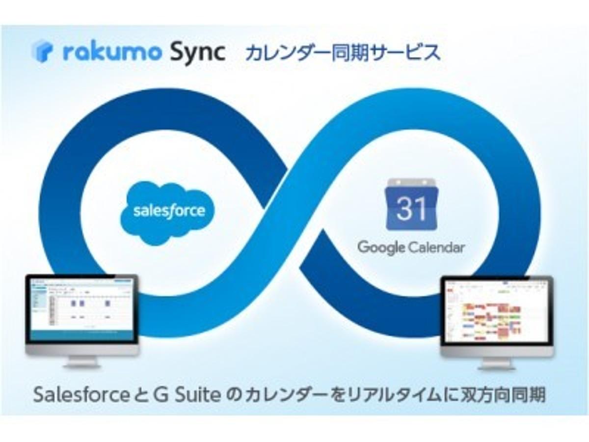 「AppExchangeを通じたrakumo Syncの海外販売を開始」の見出し画像