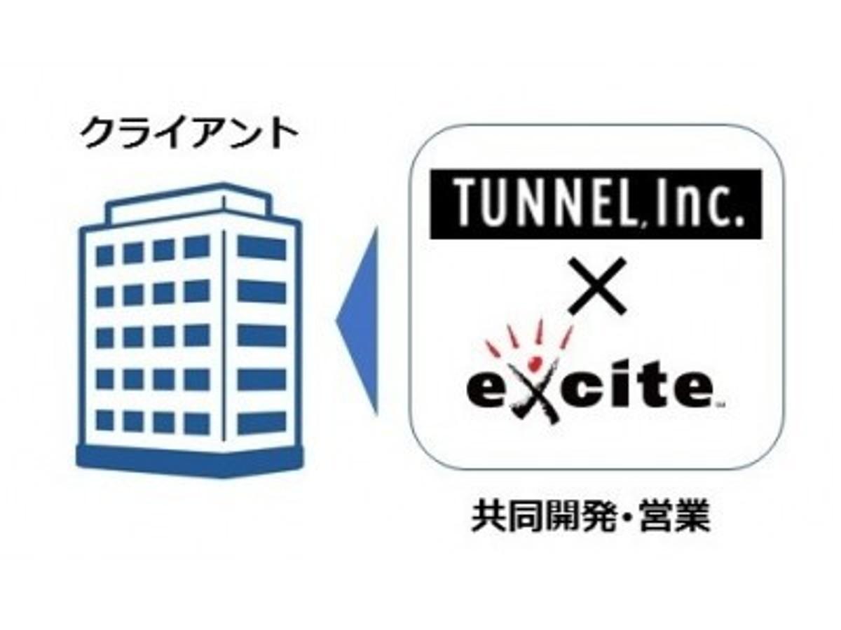 「エキサイト Tunnel社への資本業務提携について」の見出し画像