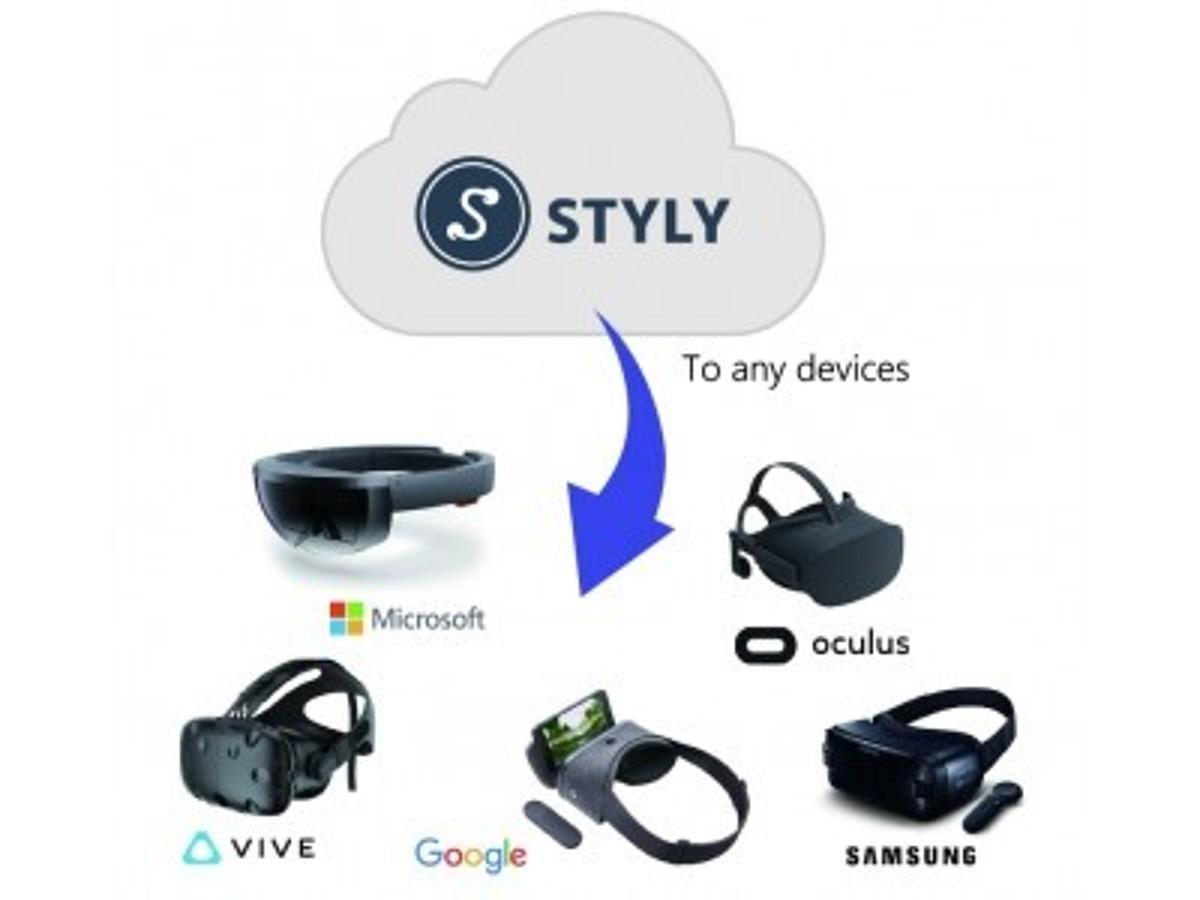 「ファッションVRのPsychic VR Lab、クリエイターのためのVR制作・配信プラットフォーム『STYLY』のパブリックβ版をリリース」の見出し画像