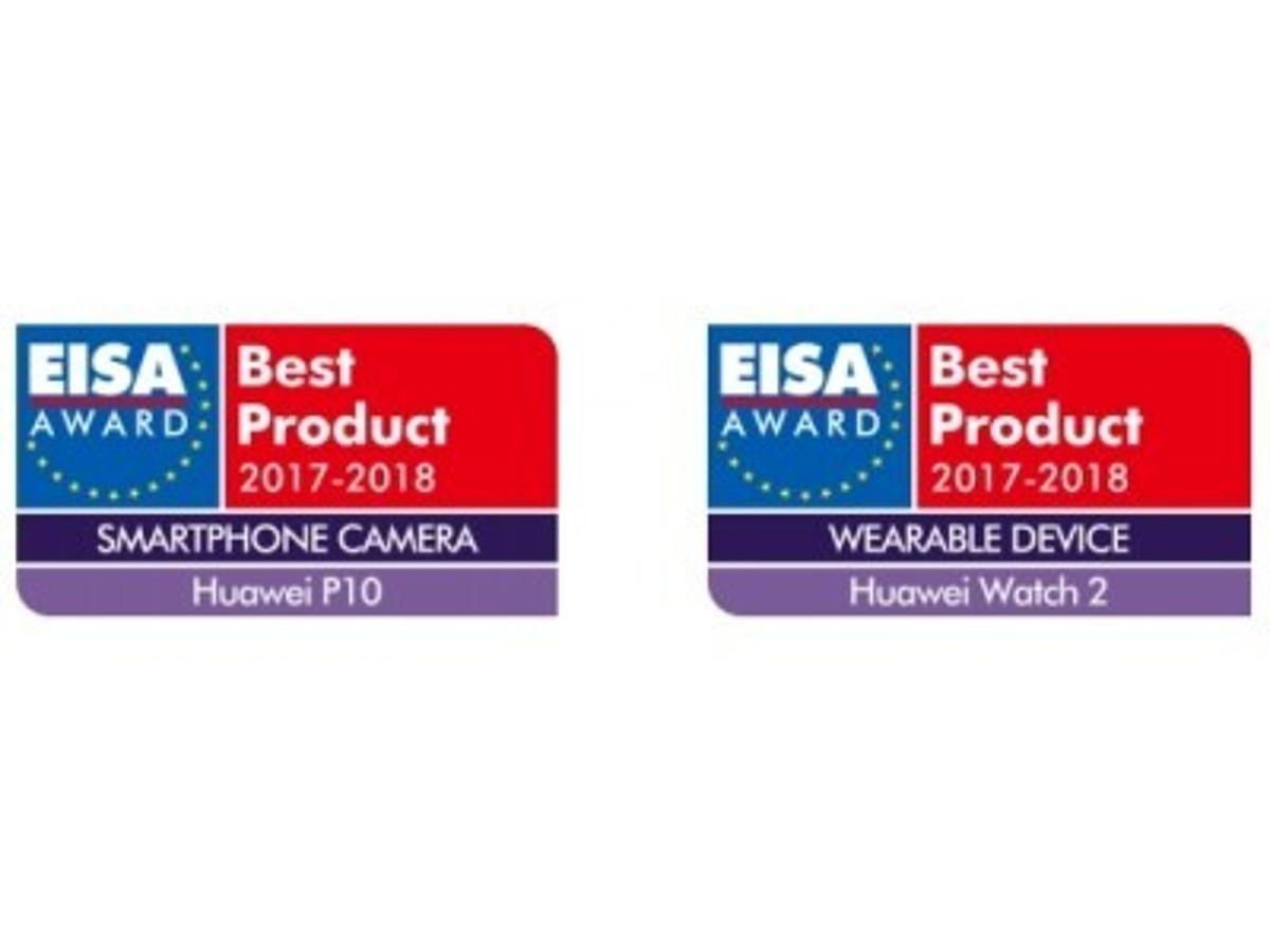 「HUAWEI P10とHUAWEI Watch 2が、EISAアワードをダブル受賞 ファーウェイ連続受賞!欧州映像・音響協会EISAより2つの大賞獲得」の見出し画像