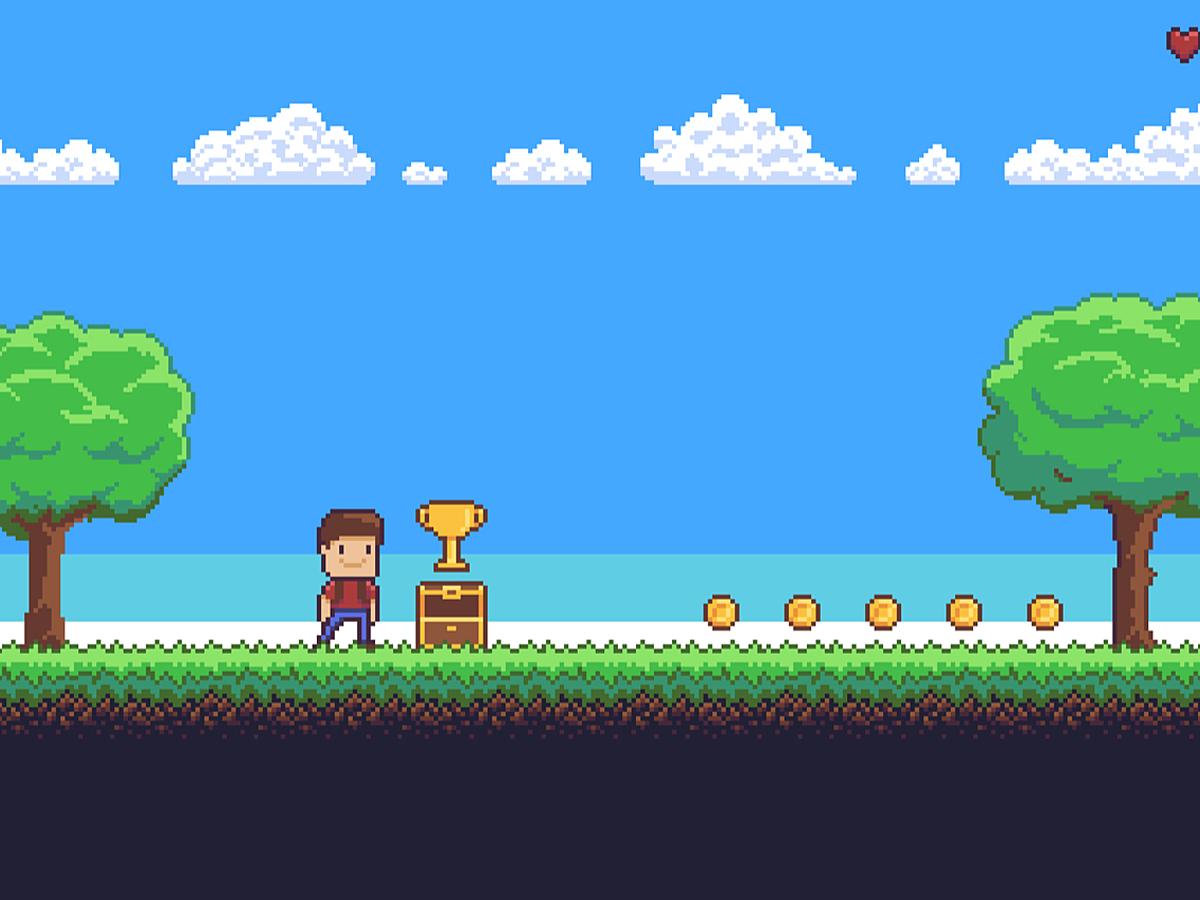 「ゲームのような個性的なデザインに!ドット絵の事例と無料作成ツールを紹介」の見出し画像