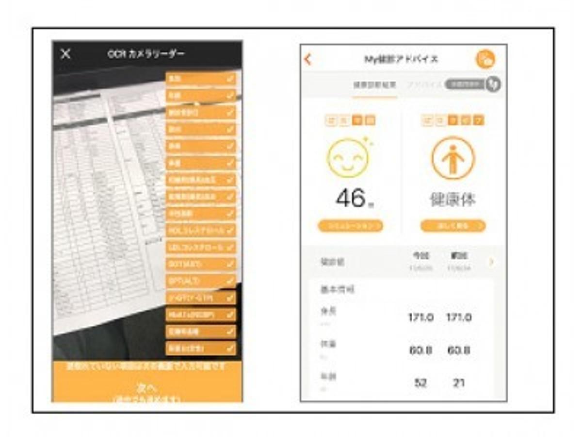 「タブレット端末をかざすだけでカラダの健康状態が分かる「健康年齢(R)OCR サービス」を提供開始」の見出し画像