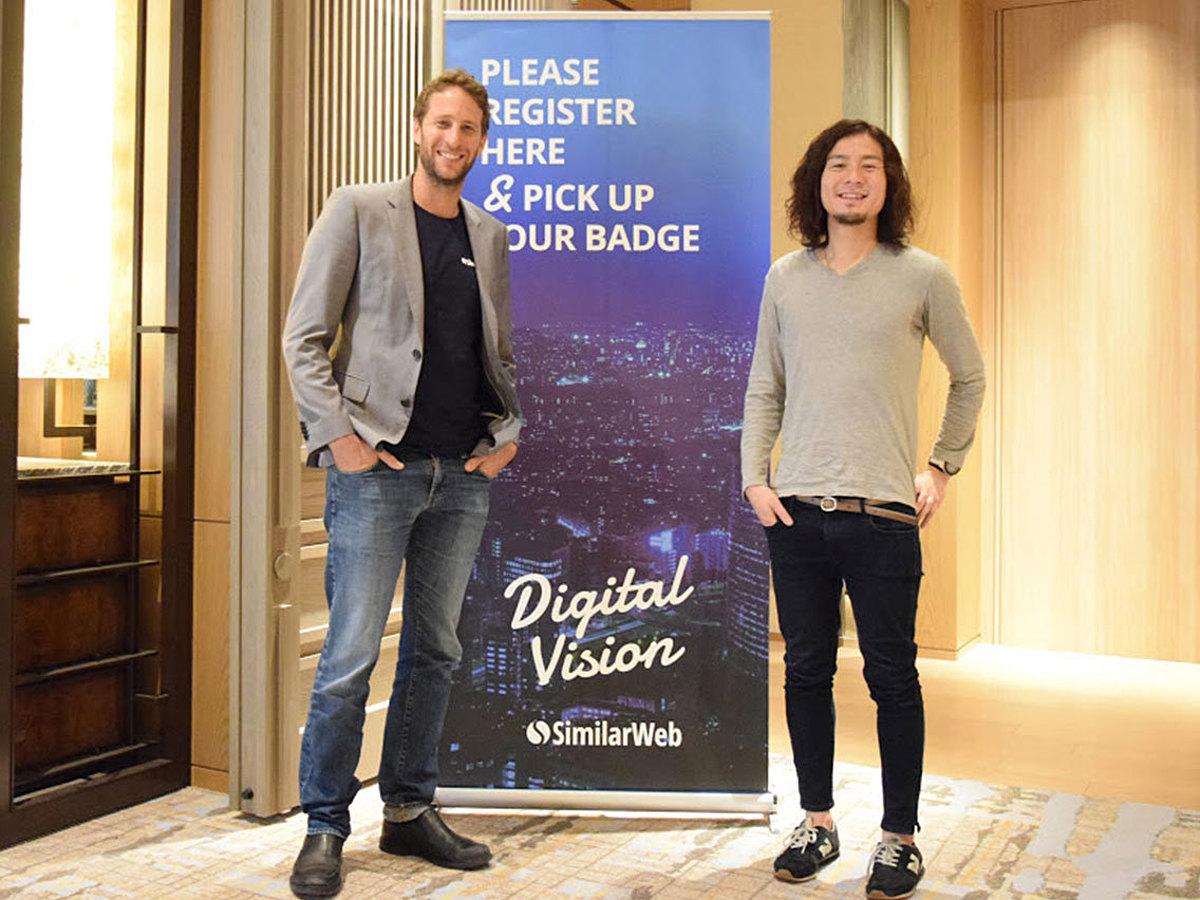 「データドリブンが企業成長の近道となるー「SimilarWeb(シミラーウェブ)」CEO独占インタビュー」の見出し画像