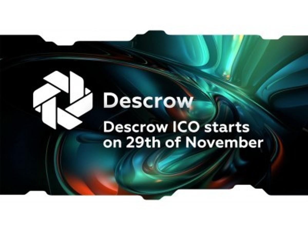 「ICO詐欺から投資家を守るプラットフォーム、「Descrow」が11/29よりICO開始。」の見出し画像