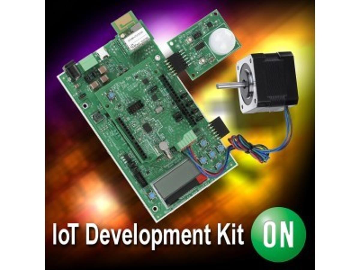 「新しいBluetooth(R) Low Energyと環境発電センサシールドを追加し、IoT開発キットの機能をさらに拡張」の見出し画像