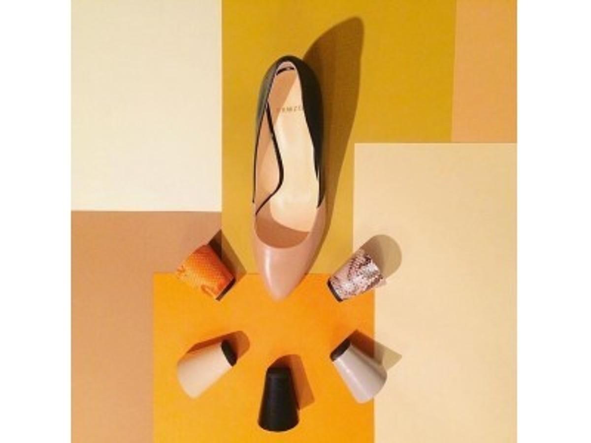 「スタイリングや気分に合わせてヒール交換できる婦人靴ブランド「FAMZON (ファムゾン)」が世界最高のデザインファーム「IDEO」が参画するD4V等から6,000万円の資金調達を実施」の見出し画像