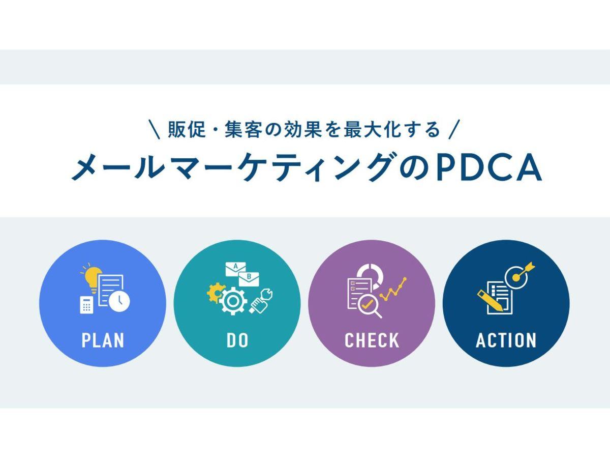 メールマーケティングのPDCA解説資料をダウンロード